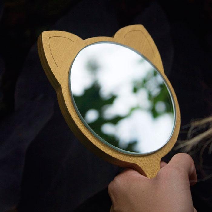 Espejo de Gato con Mango / REVEZ
