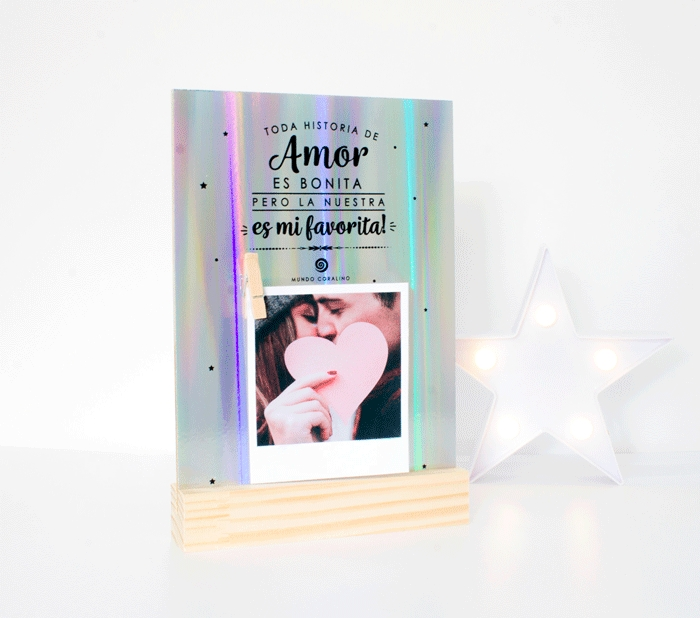 Porta-foto Amor / Mundo Coralino