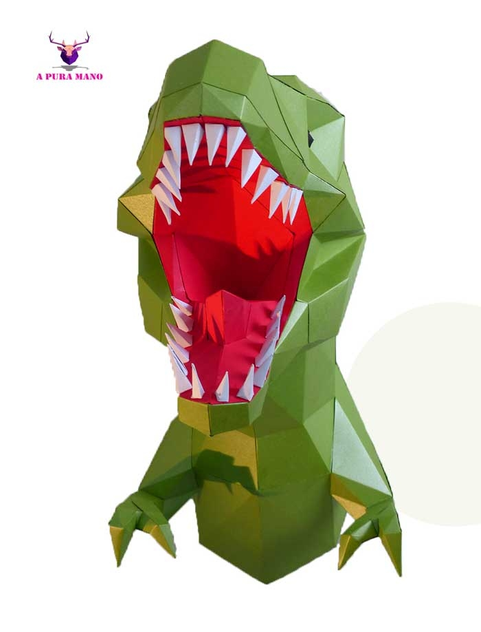 Dinosaurio T- Rex / A Pura Mano