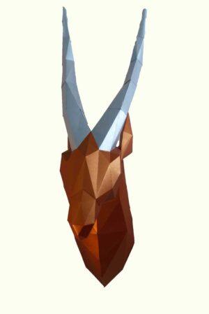 Cabeza de Gacela / A Pura Mano