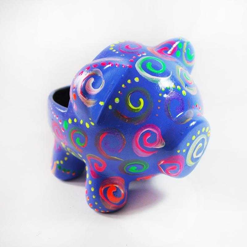 Alcancía Espirales de Colores / Oing Oing by Colorá