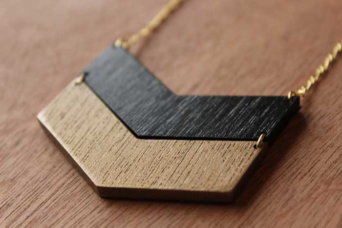 Collar 2V Negro / Mittú
