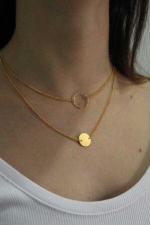 Collar Better Together Oro / Mittú
