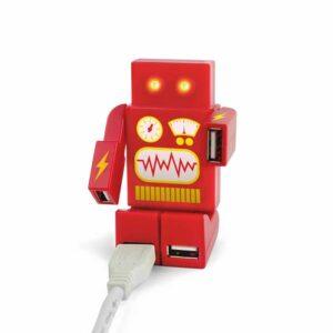 Multipuerto USB Robot / Mustard (*Elige Color)