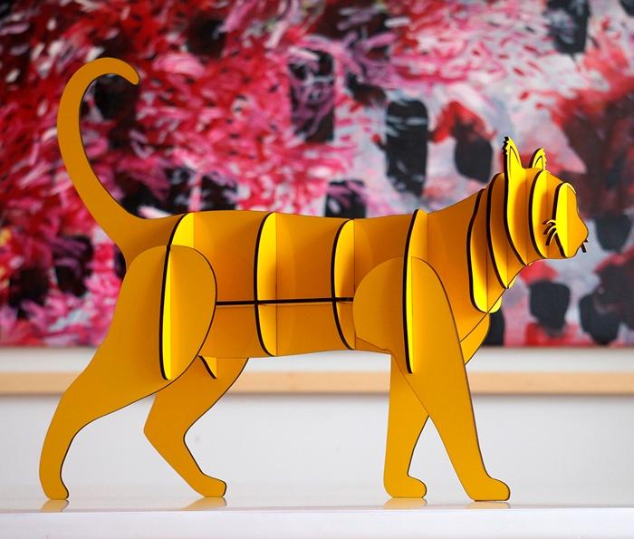 Gato Criollo Grande Amarillo / Figúrate